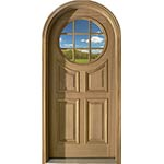 ... SIG Series Round Top Circle Lite Custom Front Door Purcell ...