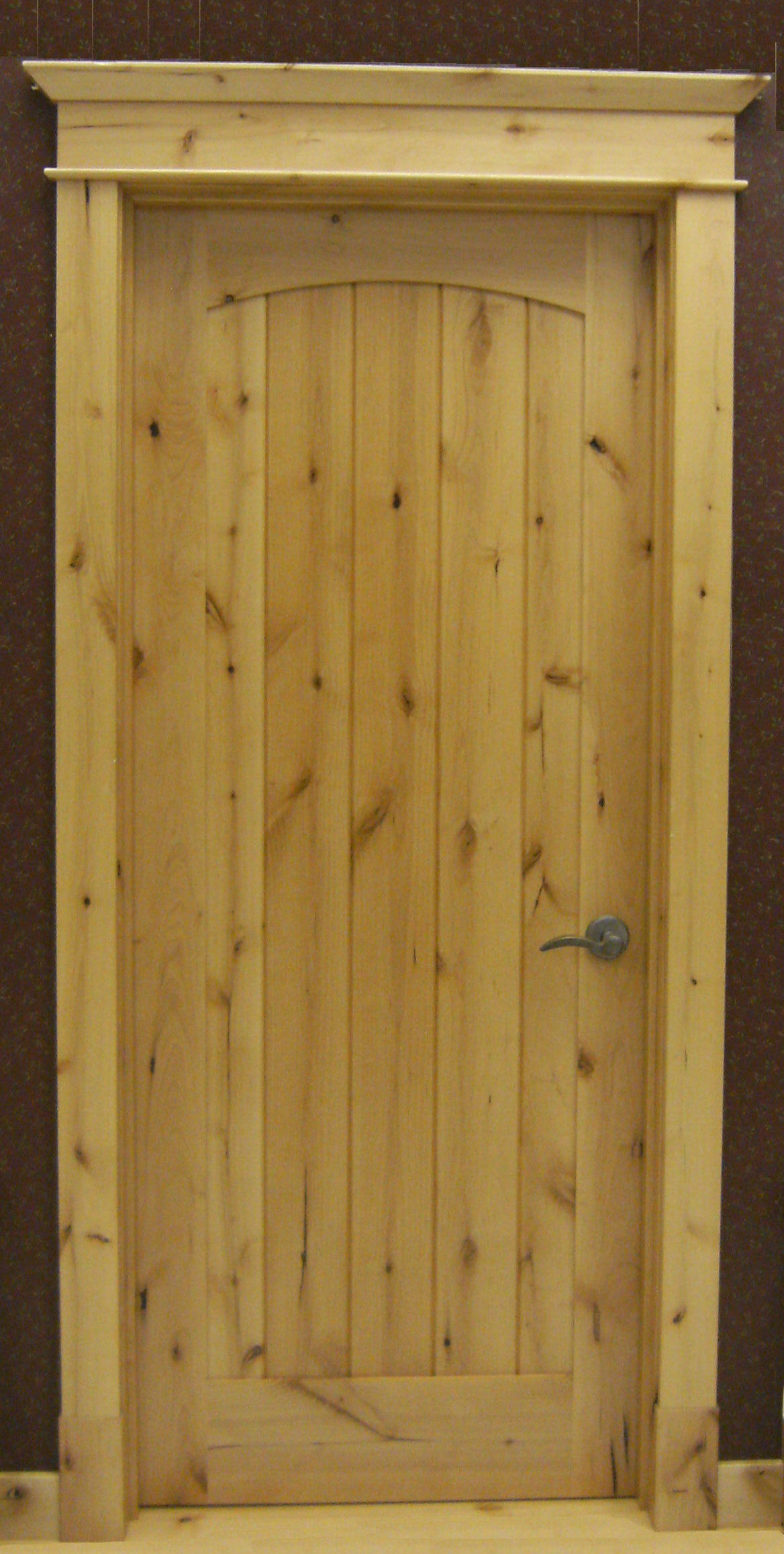Rustic knotty alder doors for Knotty alder wood doors