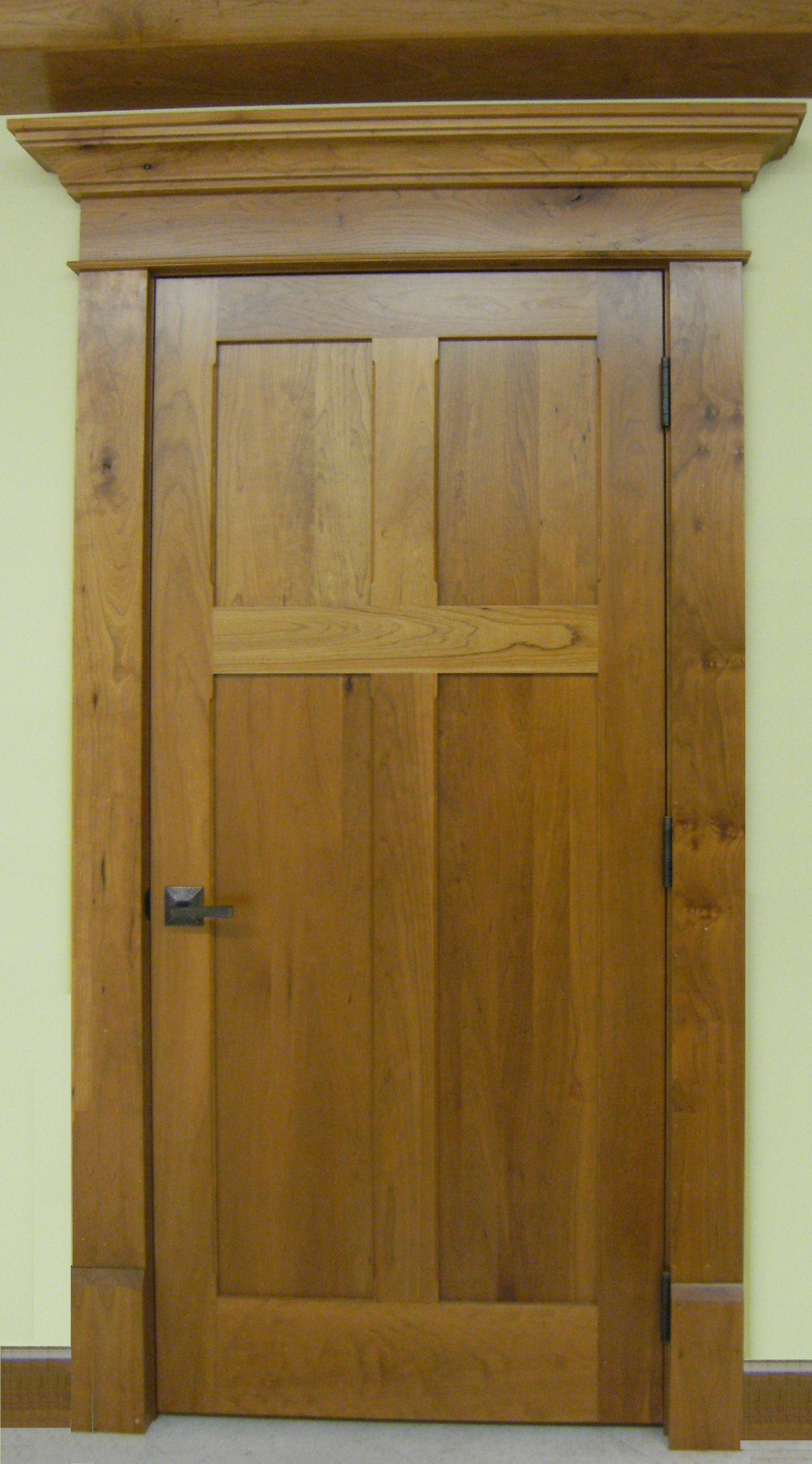 Cherry Reverse 4 Panel Interior Door