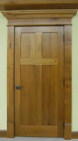 Attirant Cherry Reverse 4 Panel Interior Door