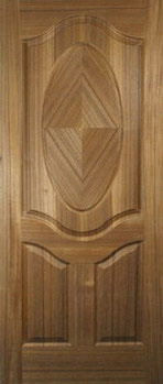 custom Walnut Door