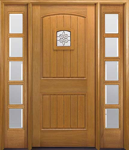 Craftsman style front doors entry doors exterior doors for Doors for front door
