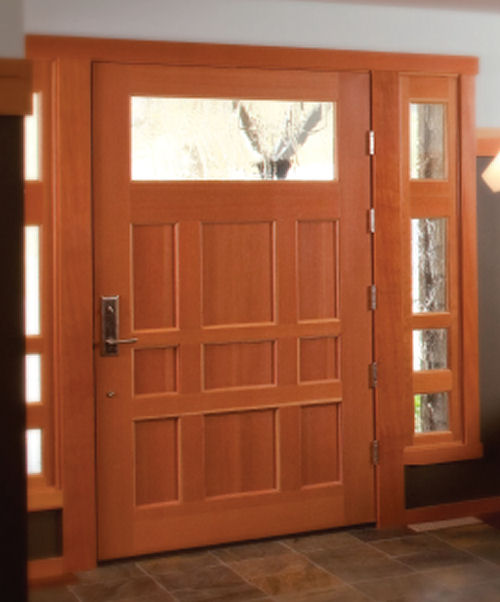 Contemporary Entry Doors Todays Entry Doors Fiberglass Door EBay ...