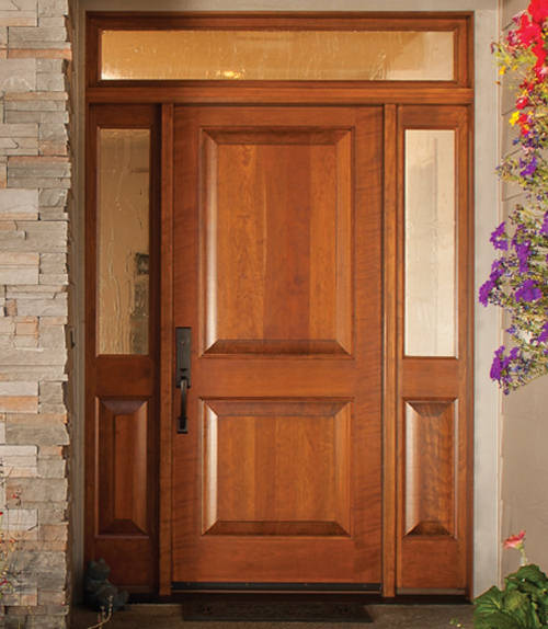 Wood exterior doors photo gallery homestead doors the for Baroque glass door