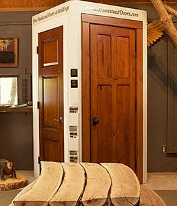 Full Open Door Display Door Display & Visit our Door Displays and Showrooms | Homestead Doors Inc