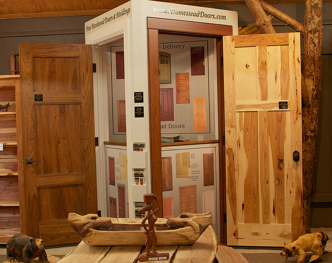 Full Open Door Display Door Display & Visit our Door Displays and Showrooms | Homestead Doors Inc