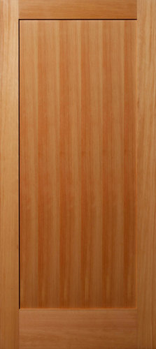 Vertical Grain Douglas Fir 1 Panel Flat Panel Interior