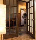 French Interior Pine Wood Doors