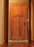 Rustic Knotty Alder Interior Door