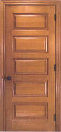 Homestead Series Raised Horizontal 5 Panel Interior Door
