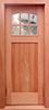 Custom Exterior Wood Door