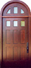 Spanish Cedar Full Arch Exterior Wood Door