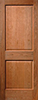 Traditional Raised 2-Panel Veneered Interior Door