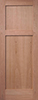 Cherry Veneered Flat 2-Panel Interior Door