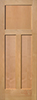 Alder Flat 3-Panel Interior Door